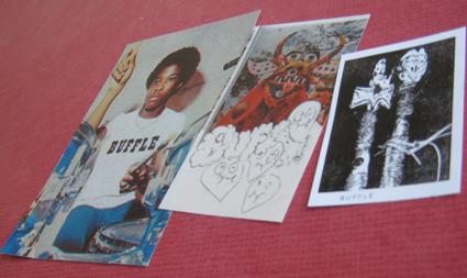 Stickers, thanks to Bongo Man